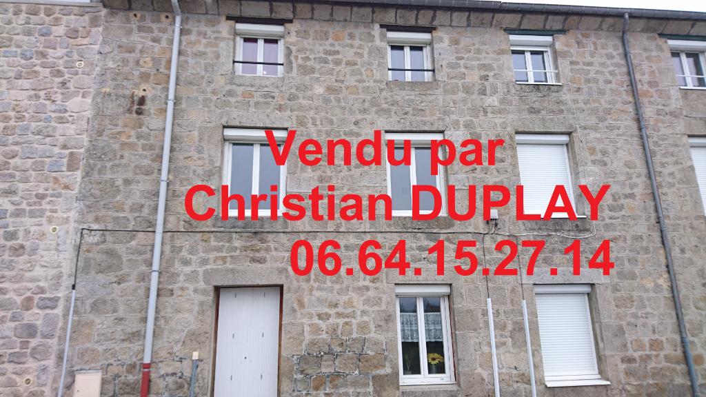 Immeuble - 150 m² 4 appartements loués