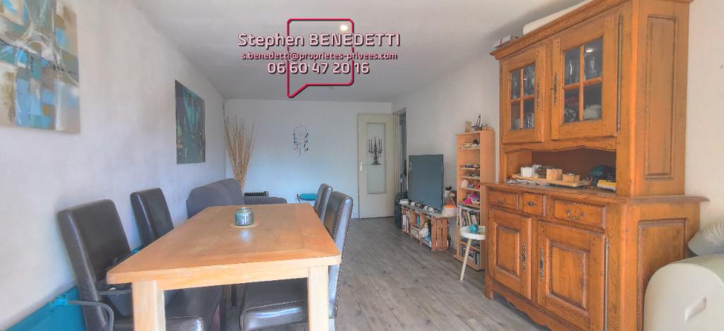 Appartement  3 pièces de 66 m², Cave, Box de stationnement