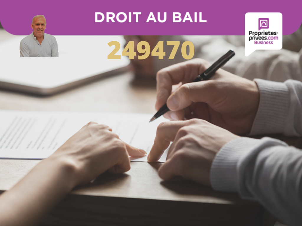TOULOUSE-  DROIT AU BAIL 160 M² 111100