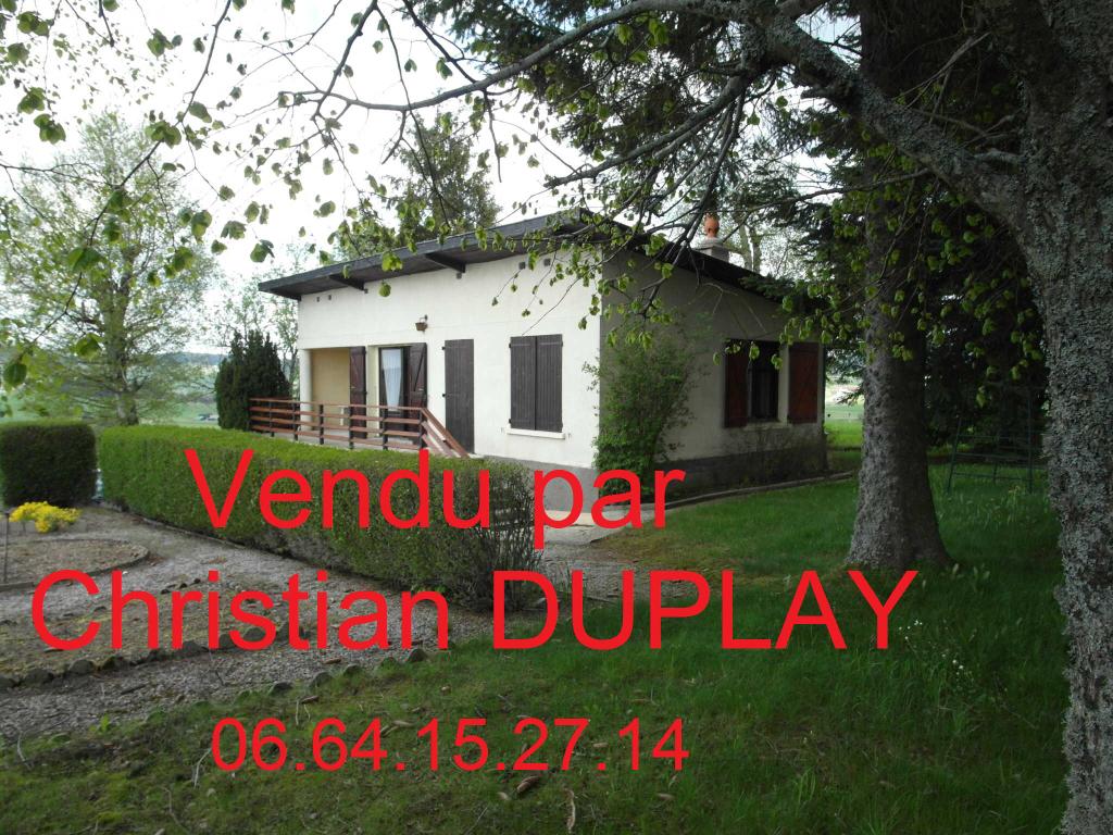 Maison Saint Genest Malifaux 4 pièces 61,4m² 2 chambres