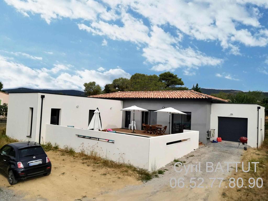 Villa contemporaine 2020, 3 chambres, Piscine