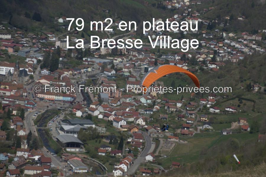 Appartement de 79 m2 en plateau à La Bresse