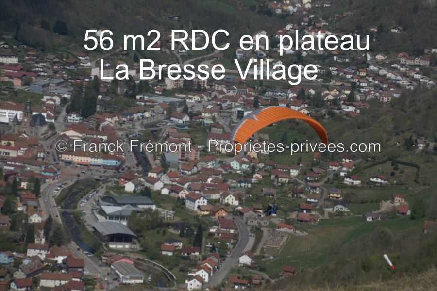 Appartement de 56 m2 en plateau à La Bresse