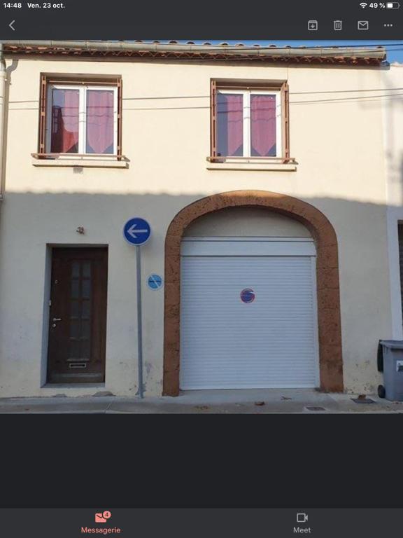 Maison avec cour intérieure + garage