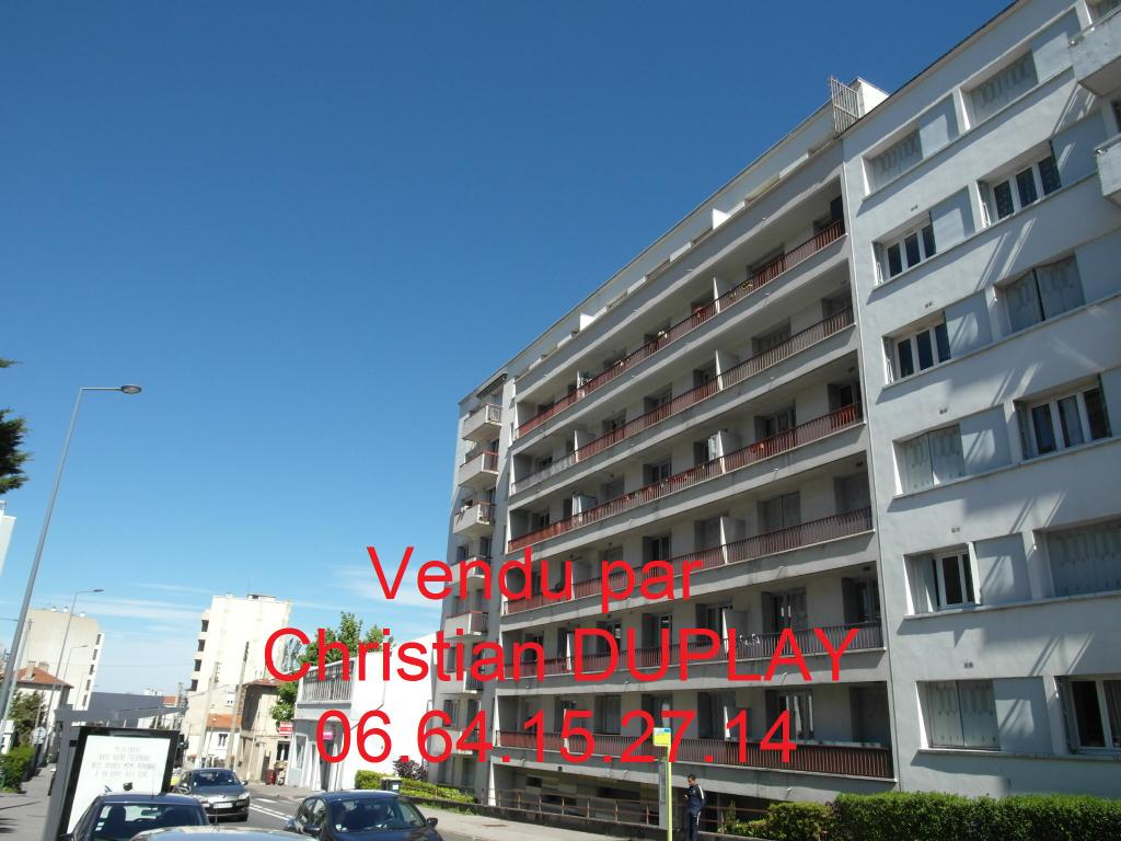 Appartement Saint Etienne  58.67 m² cave et garage