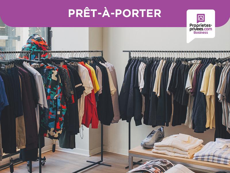 75020 - PARIS . MAROQUINERIE / PRET-A-PORTER 125 m²