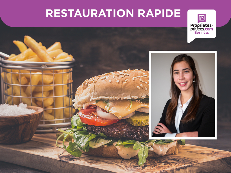 21000 DIJON - RESTAURANT   RESTAURATION RAPIDE SNACK BURGER 40 COUVERTS