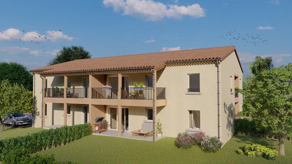 Appartement L'Isle Sur La Sorgue 2 pièces 44 m² - 155 000 euros -