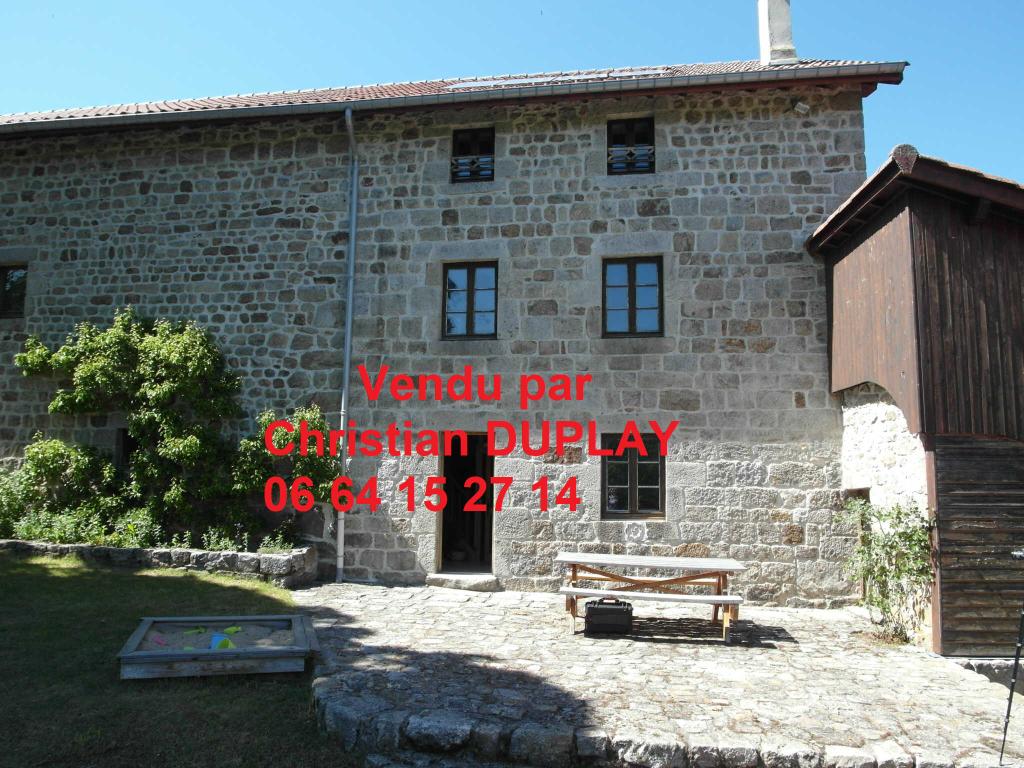 Maison Saint Régis du Coin 8 pièces 185 m² sur 2400m² de terrain