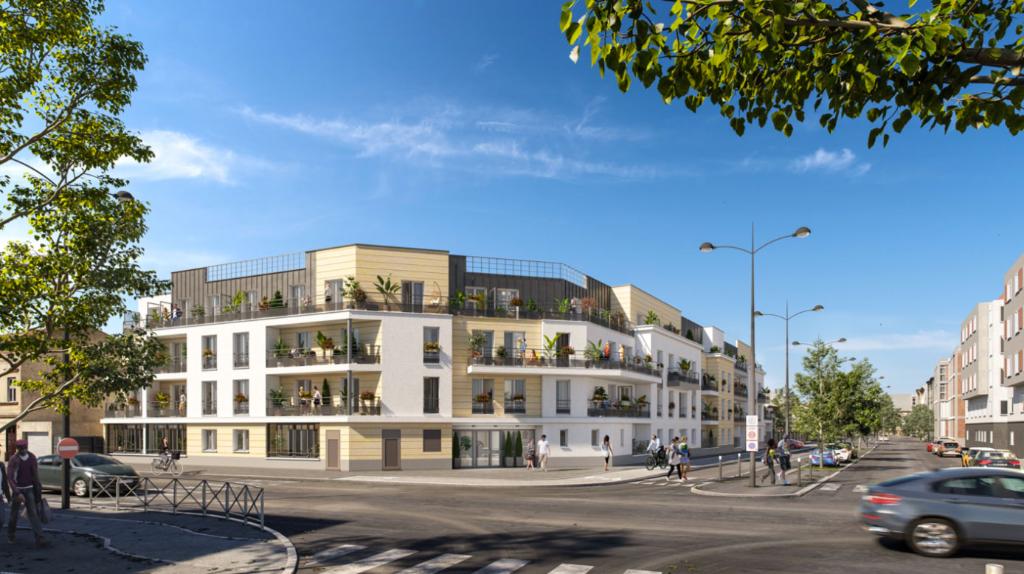 Appartement T1 - 28m2 - dernier étage - terrasse - MEAUX (77100)