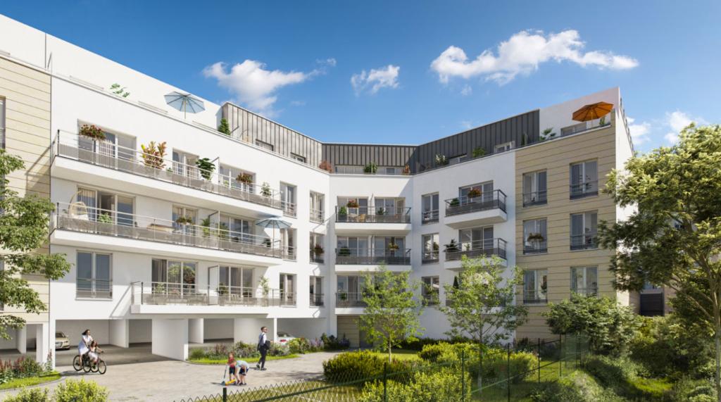 Appartement T4 - 73m2 - dernier étage - terrasse - MEAUX (77100)