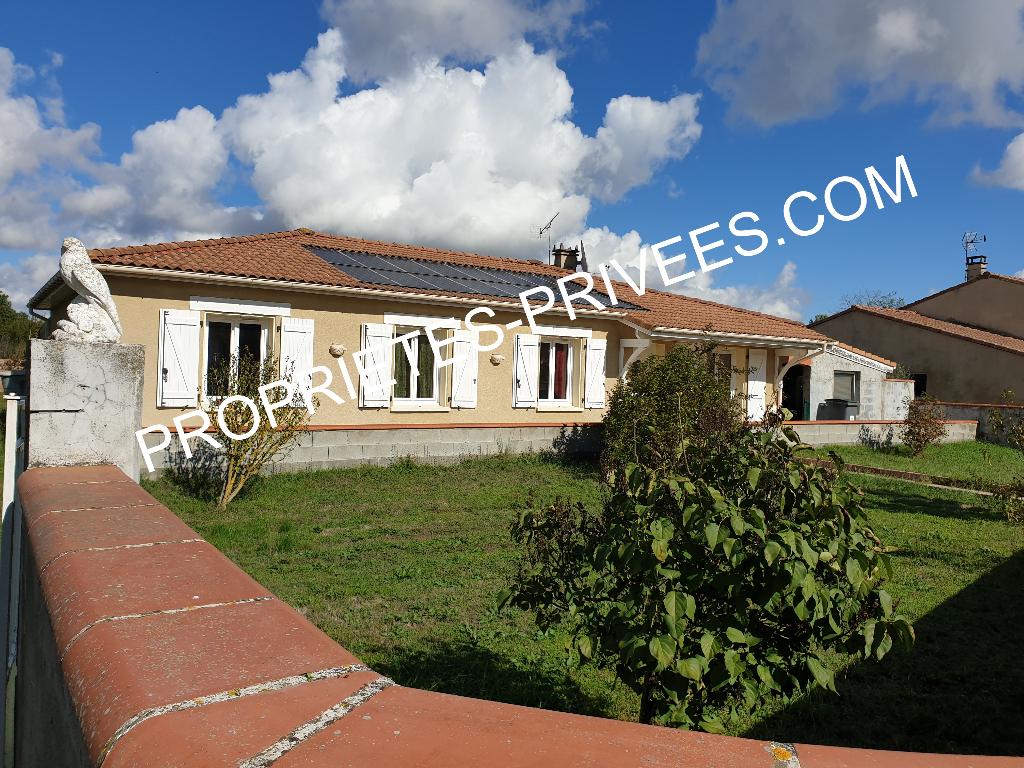 31600 secteur de Muret à 8 minutes villa 7 pièces env 130m² sur 1281m² terrain clos