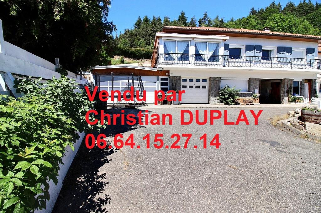 Maison  6 pièces 234 m² 4 chambres sur 1072m² de terrain piscine couverte chauffée