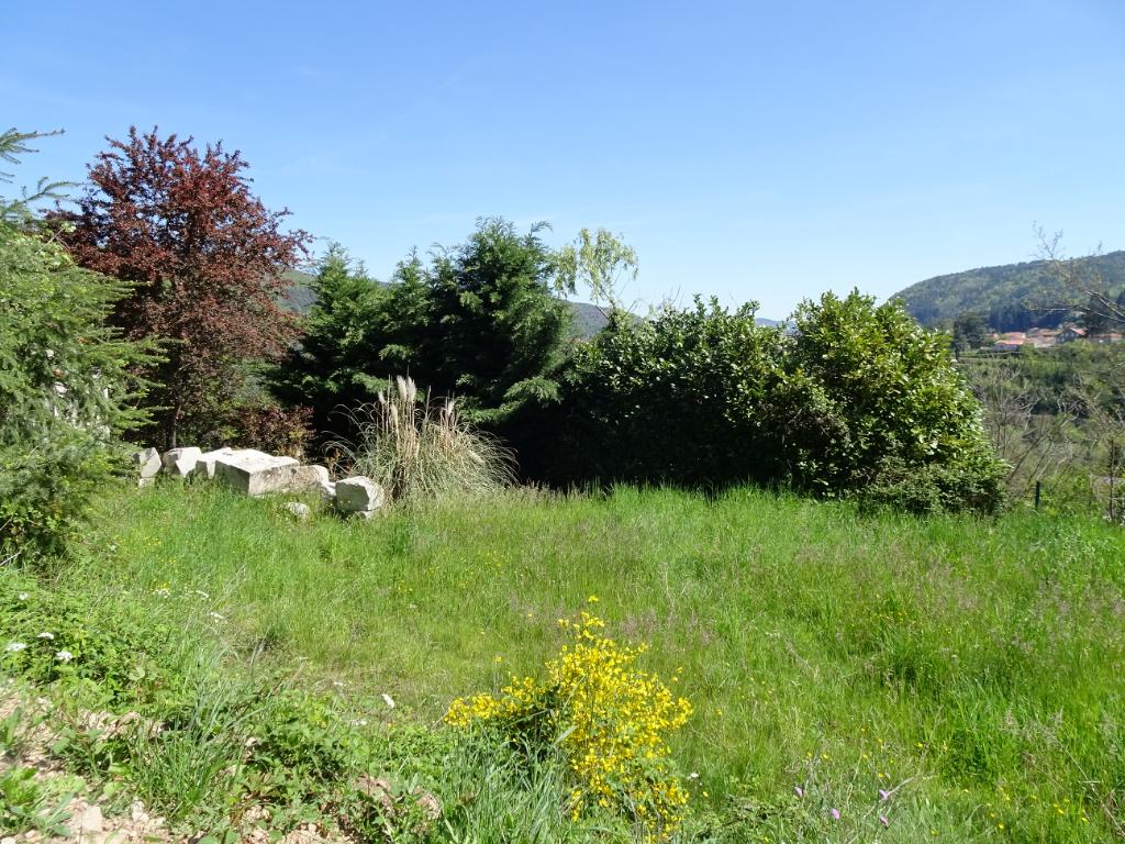 terrain à bâtir de 2242 m² exposé plein sud avec superbe vue Aurec sur loire