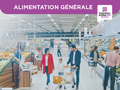 EXCLUSIVITE SAINT DENIS  -  EPICERIE ALIMENTATION 140 M²