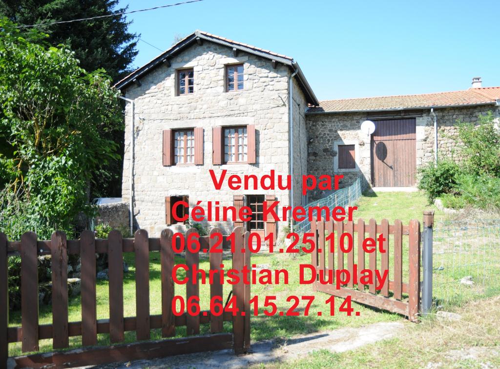Maison St Didier En Velay 7 pièces 152 m² sur 427m² de terrain