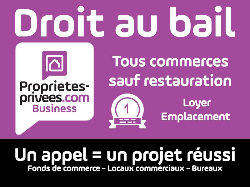 SECTEUR LILLE - CESSION DE BAIL  LOCAL 50 m². BAIL TOUT COMMERCE