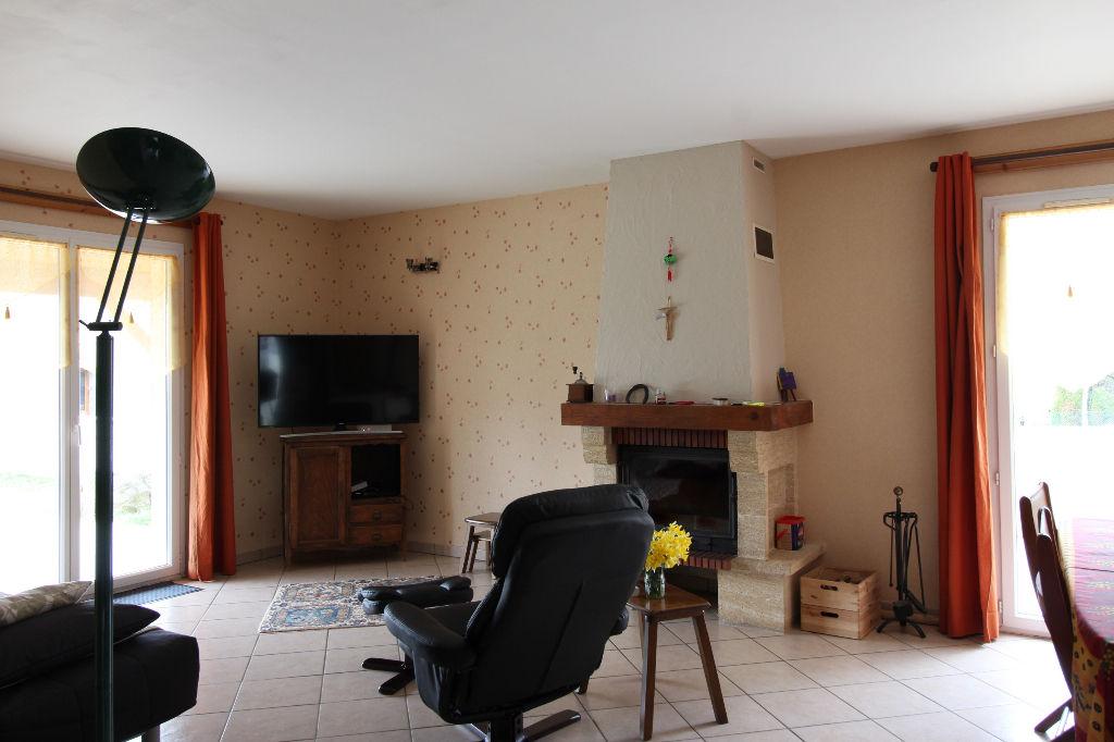 villa plain-pied 90m²  3 chambres sur 1000m² de terrain