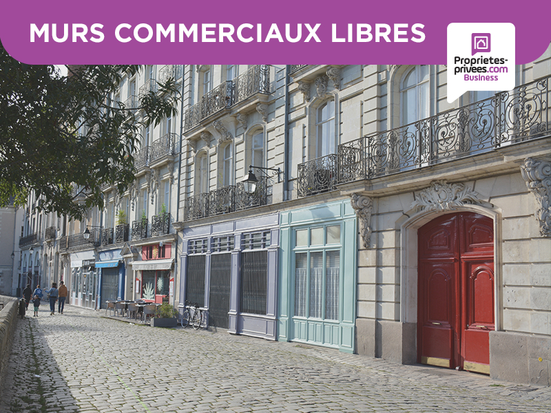 75005 PARIS LA SORBONNE  - MURS COMMERCIAUX LIBRES 69 M²