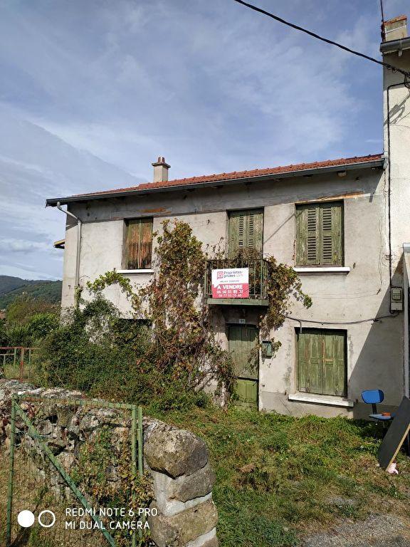 terrain 689 m² avec maison
