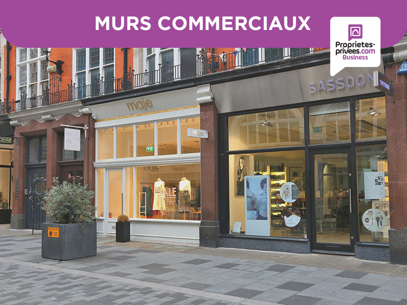 GRENOBLE CENTRE  -  Local commercial  88 m²   - 115 000 EUROS