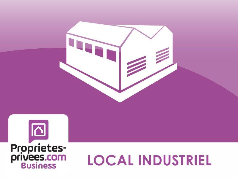 ENTRE CHARTRES ET LE MANS - LOCAL INDUSTRIEL USINE ENTREPOT 840 m² avec bureaux