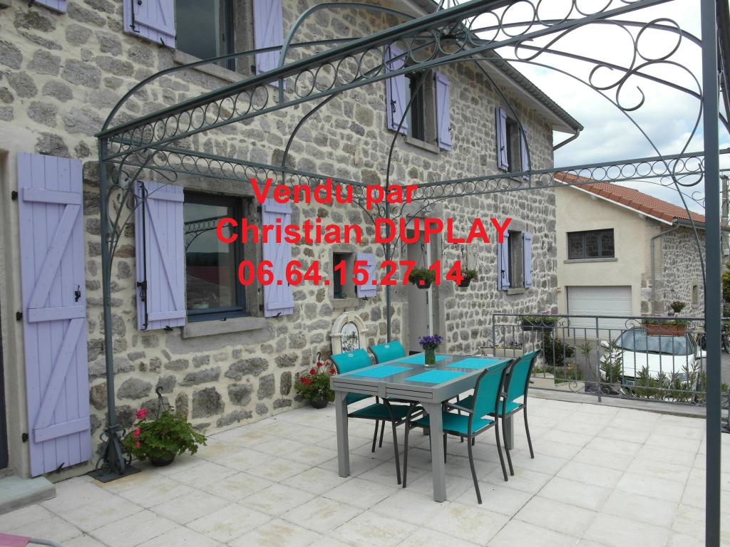 Maison pierre  120 m² 7 pièces 4 chambres 730m² de terrain
