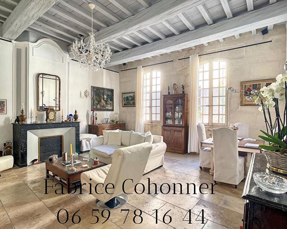 Arles Maison du XVIII siècle avec cour et jardin