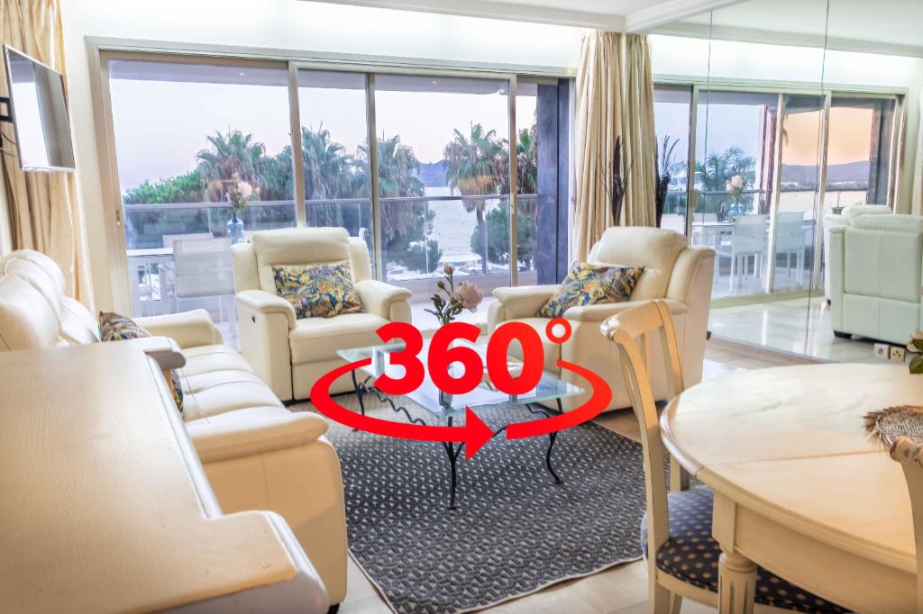 Au coeur de la  Croisette  , joli appartement  de standing à Cannes 4 pièce(s) 85 m2