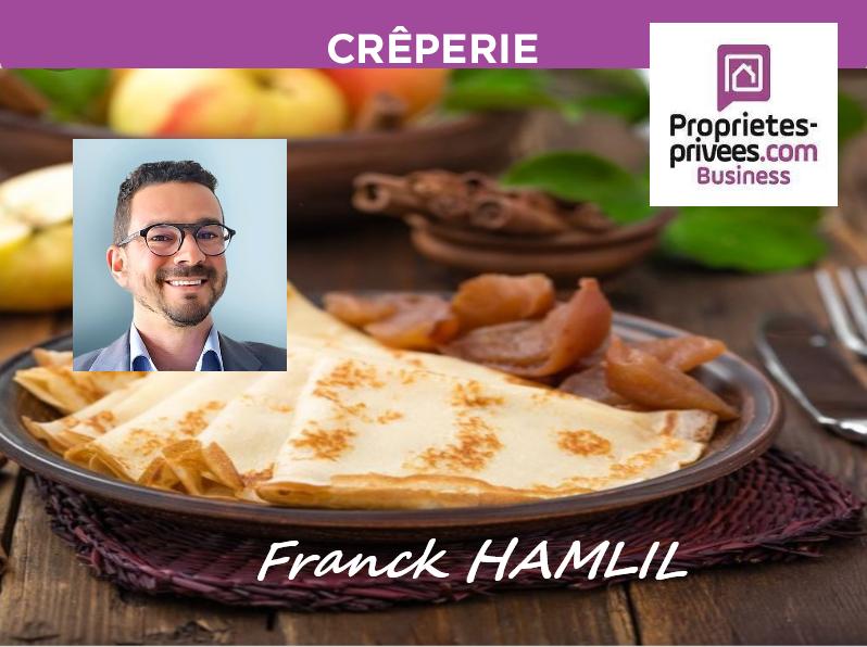 Rouen G. Agglo - Crêperie Restaurant 140 M2 -  50 COUVERTS  TERRASSE