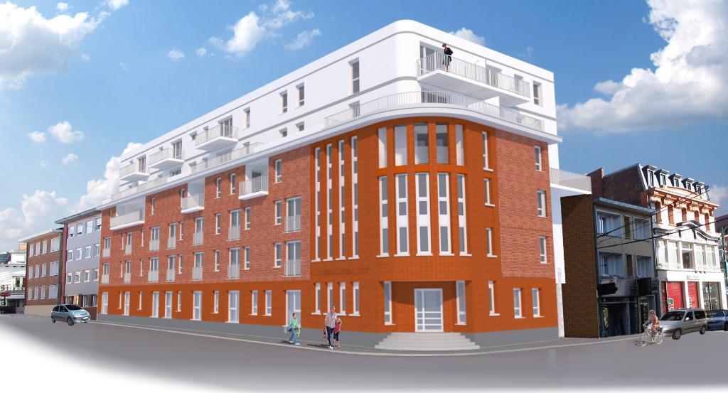 Appartements de standing Lens 3 pièce(s), neufs, éligibles pinel