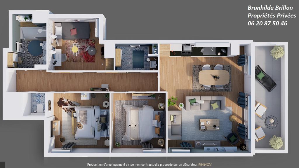 Appartement de standing Lens 4 pièce(s), neuf, éligible pinel