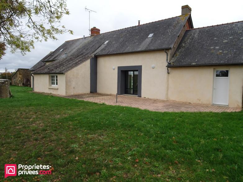 Maison plain-pied Le Louroux Beconnais 5 pièce(s) 120 m2