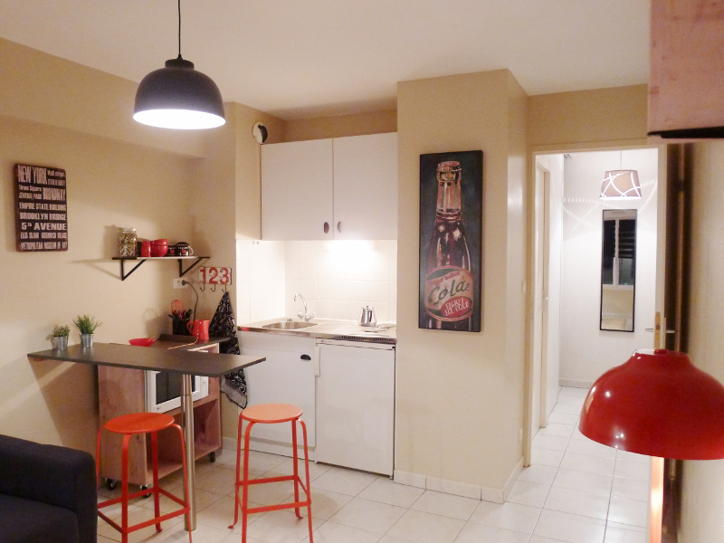 Appartement Angers 1 pièce(s) 25 m2
