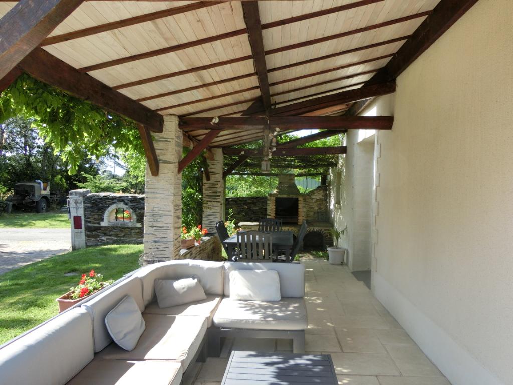 Maison Moze Sur Louet 133 m2