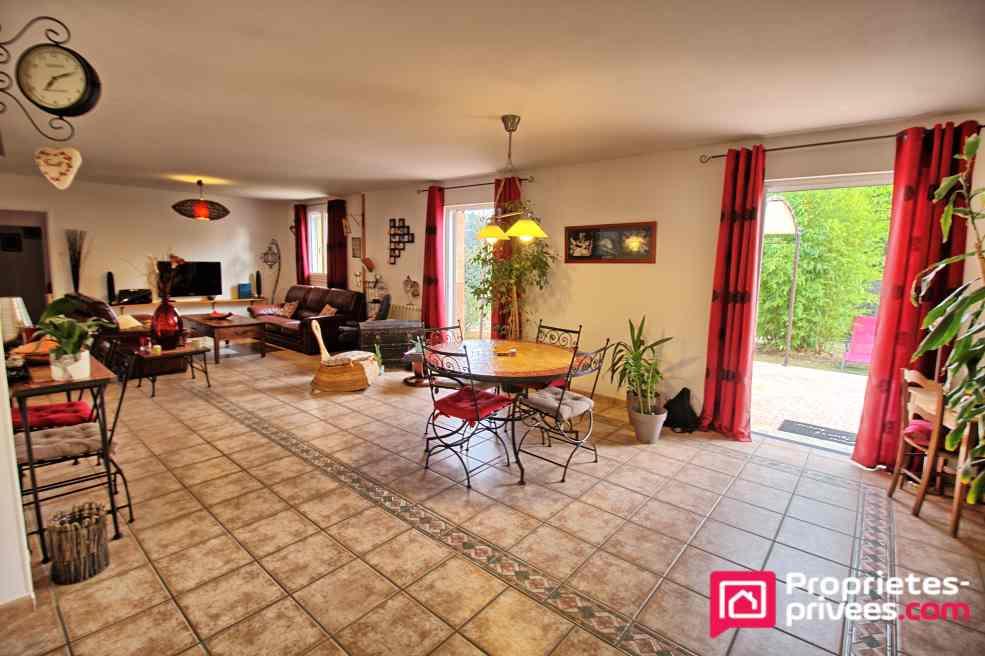Maison Maze Milon 6 pièce(s) 122 m2 plain pied + TERRAIN CONSTRUCTIBLE