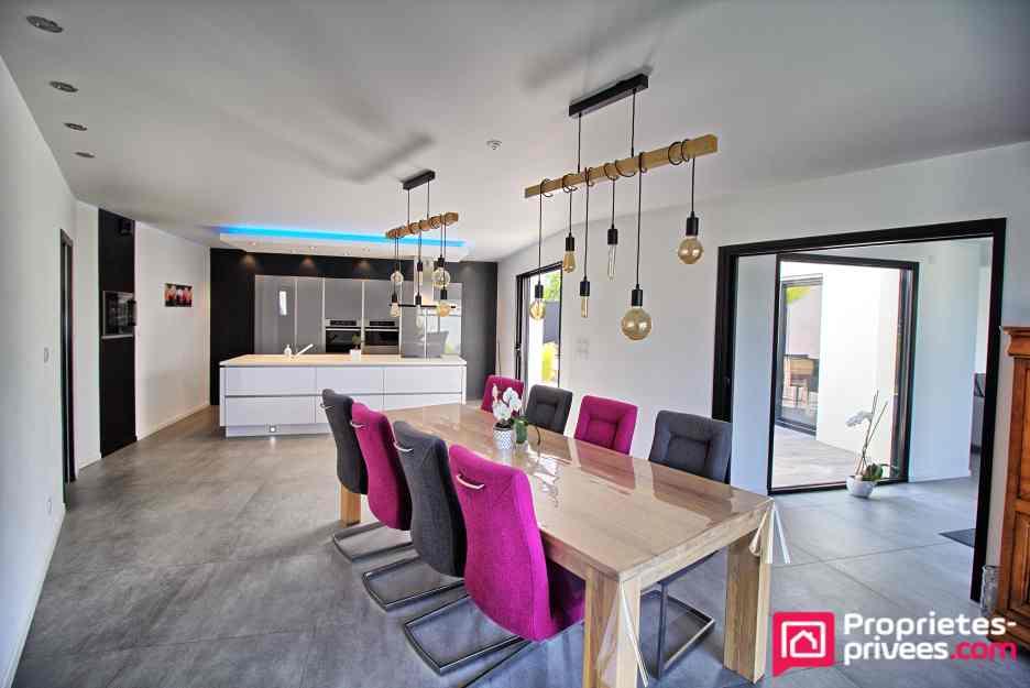 Maison  5 chambres vie de plain pied 166 m2