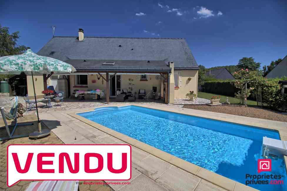 Maison plain pied Soucelles 4 pièce(s) 90 m2 parcelle 804m2