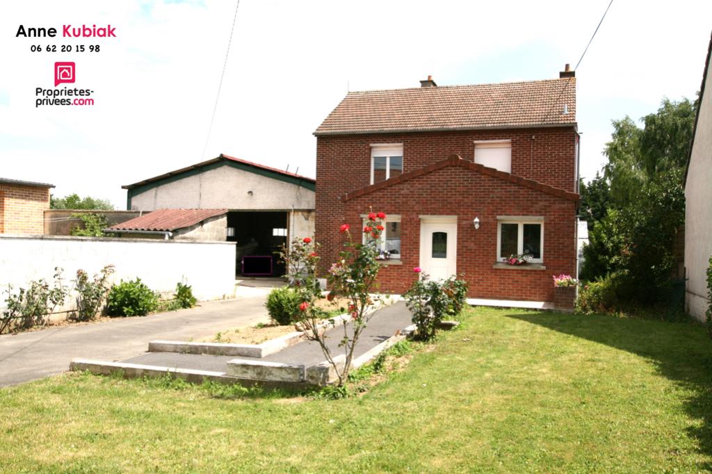 Maison individuelle semi plain-pied-env 130m2-Hangar-4 chb-bureau