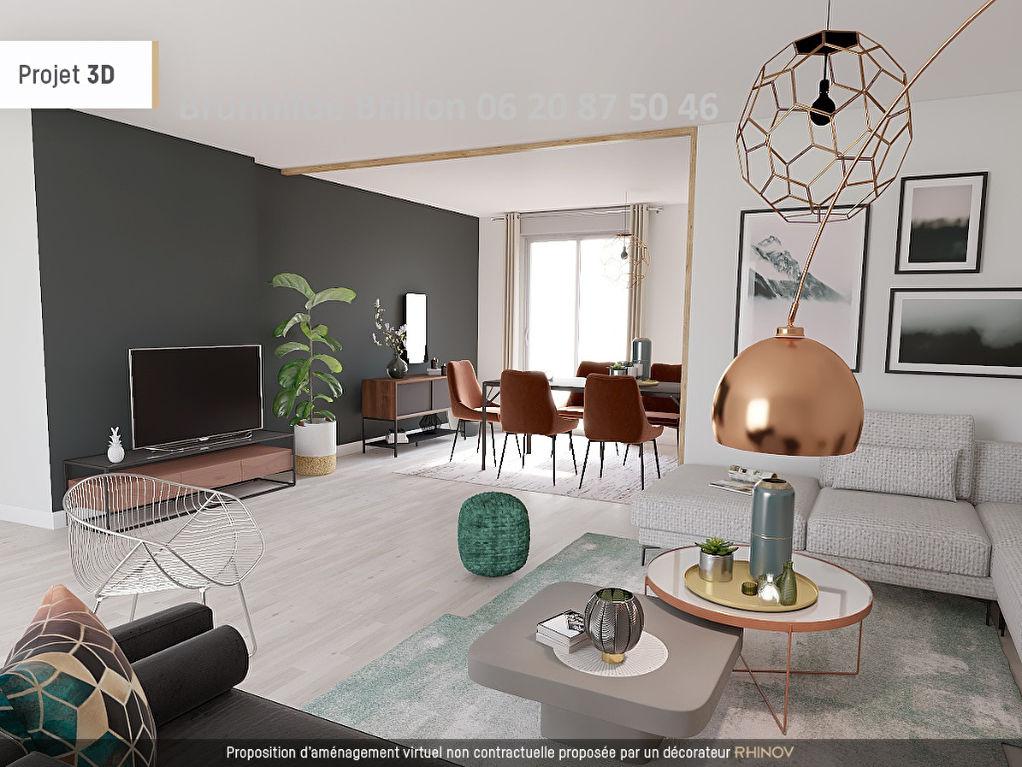 Semi plain pied 3 à 4 chambres, 5 pièce(s) 115 m2 en exclusivité!