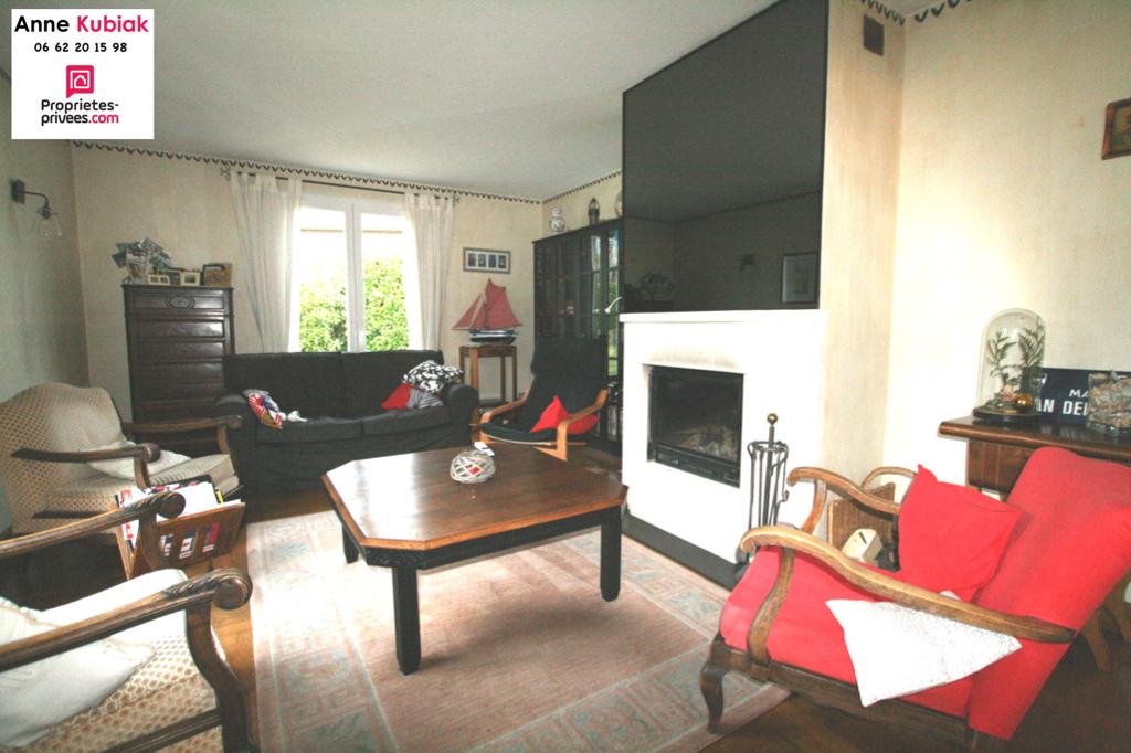 Maison individuelle-145m2 env -3 chb-Bureau-jardin-garage
