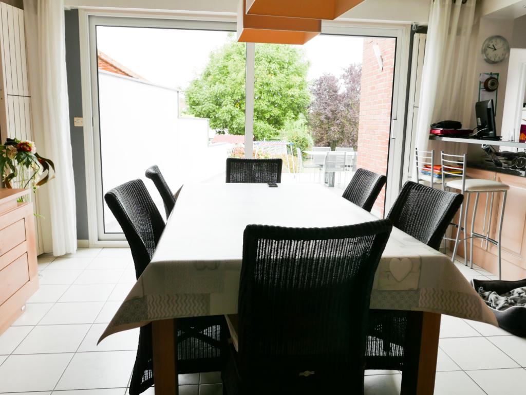 Sallaumines  62430 - Semi plain pied 4 chambres, 140M² env, garage, jardin