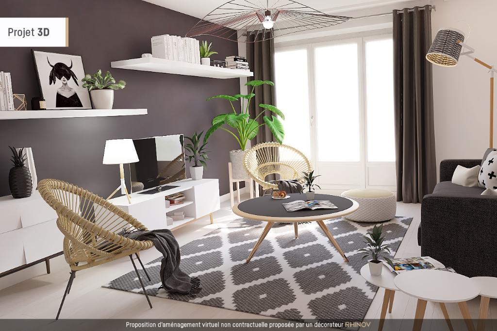 Appartement proche Eleu Dit Leauwette 3 pièce(s) 55 m2, résidence gardiennée