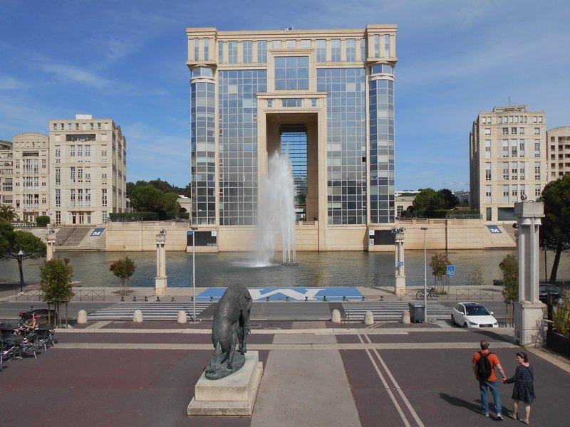 F3 vue Lez et Hotel de Région avec box