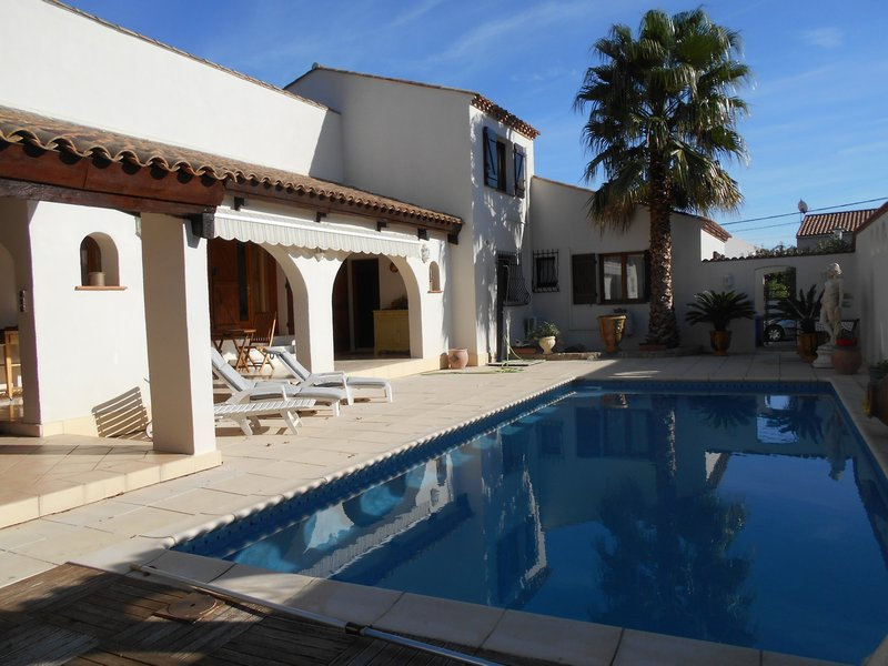 villa d'architecte avec piscine proche Montpellier