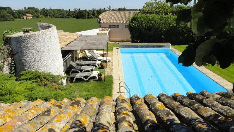 maison de caractère avec piscine