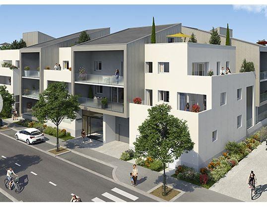 Appartement T2 40.60m2, terrasse 8 m2 et 1 parking