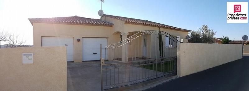 VILLA DE 98M² DOUBLE GARAGE SUR 730M² DE TERRAIN