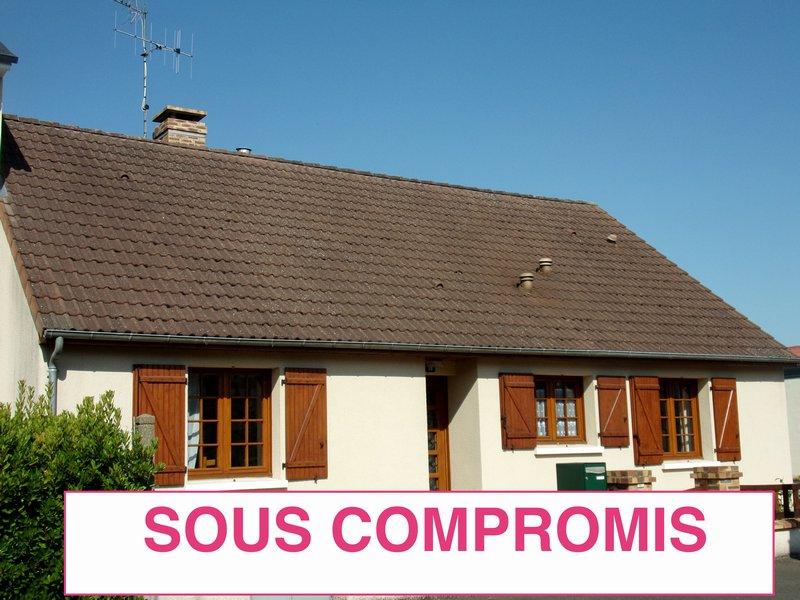 Maison sous-sol de 93 m² sur 870 m² de terrain