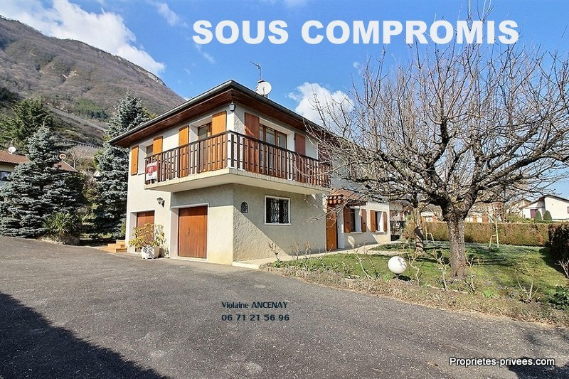 Arbin, à 15mn de Chambery, villa de 145m²
